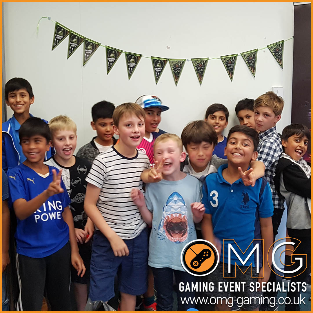 Childrens Gaming Birthday Party