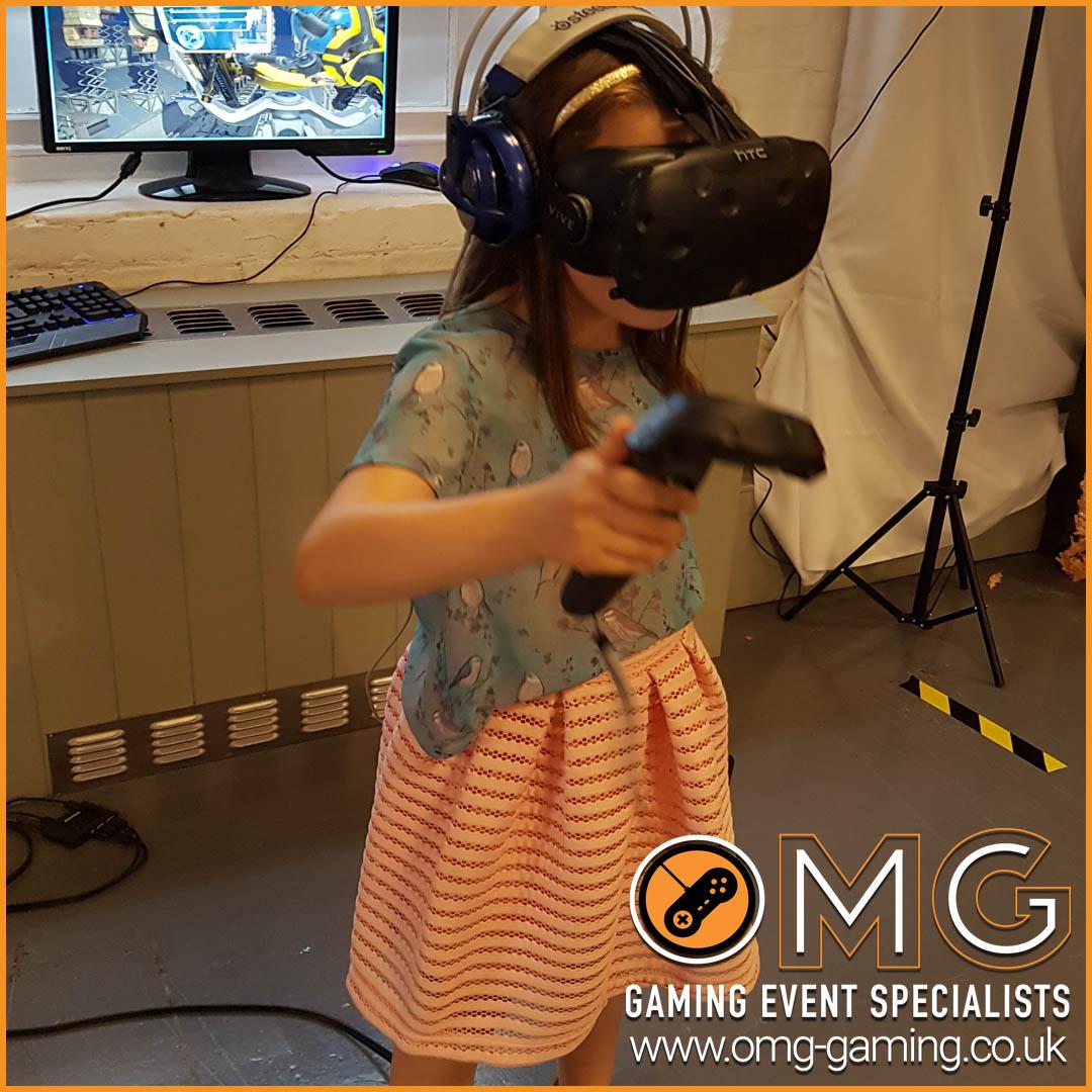 Virtual Reality Children's Wedding Entertainment