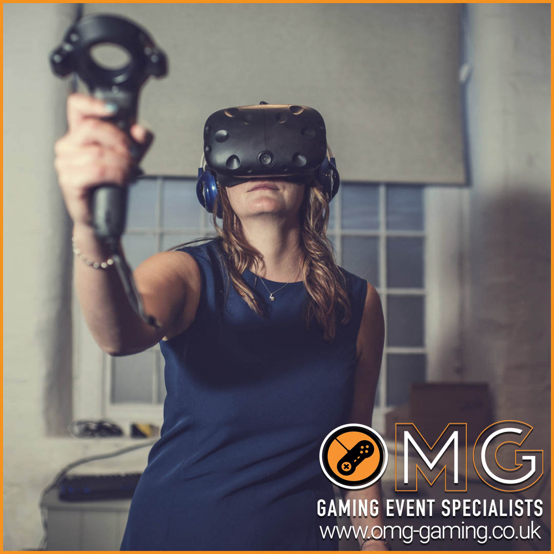 First Time Virtual Reality Experience Wedding Entertainment